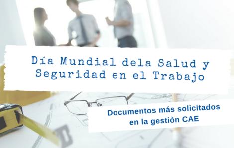Los documentos más importantes para la gestión CAE