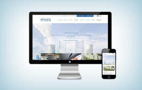 ENVIRA renova a sua página web