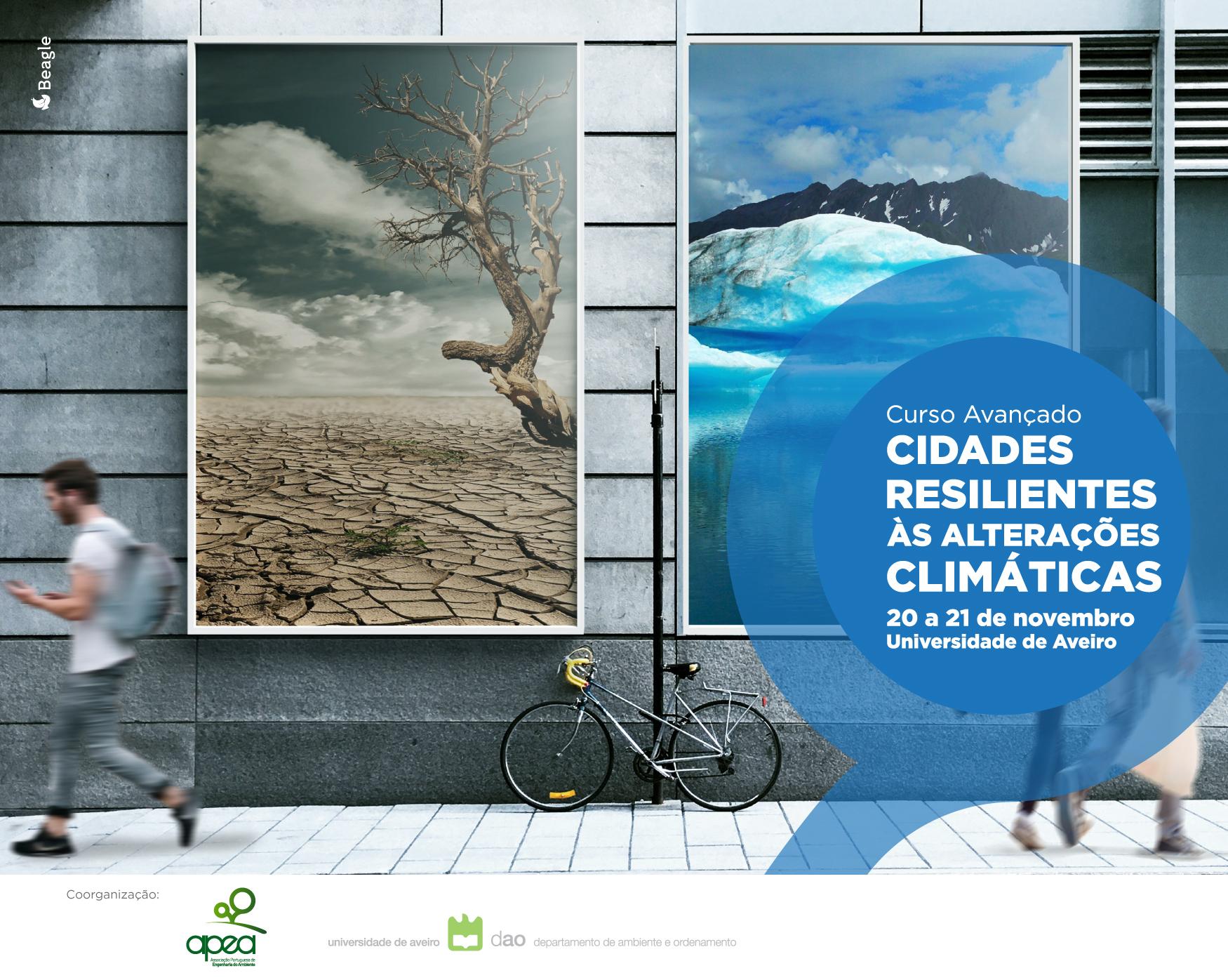 Curso Avançado Cidades Resilientes às Alterações Climáticas