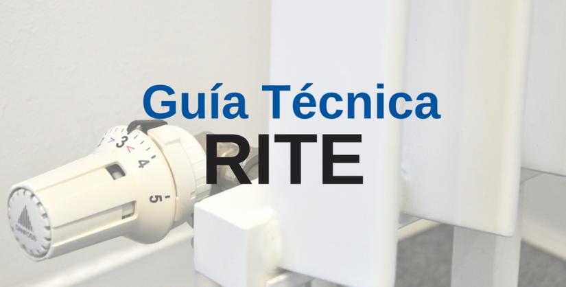 Guía RITE (Reglamento Isntalaciones Termicas en Edificios)