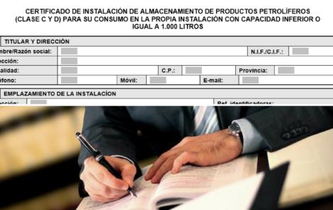 Modelos aplicables a instalaciones petrolíferas en Navarra