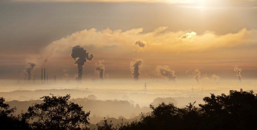 emissão de gases com efeito de estufa
