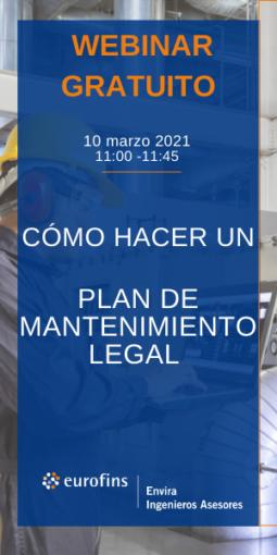 Cómo hacer un plan de mantenimiento legal
