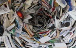 papel carton residuo