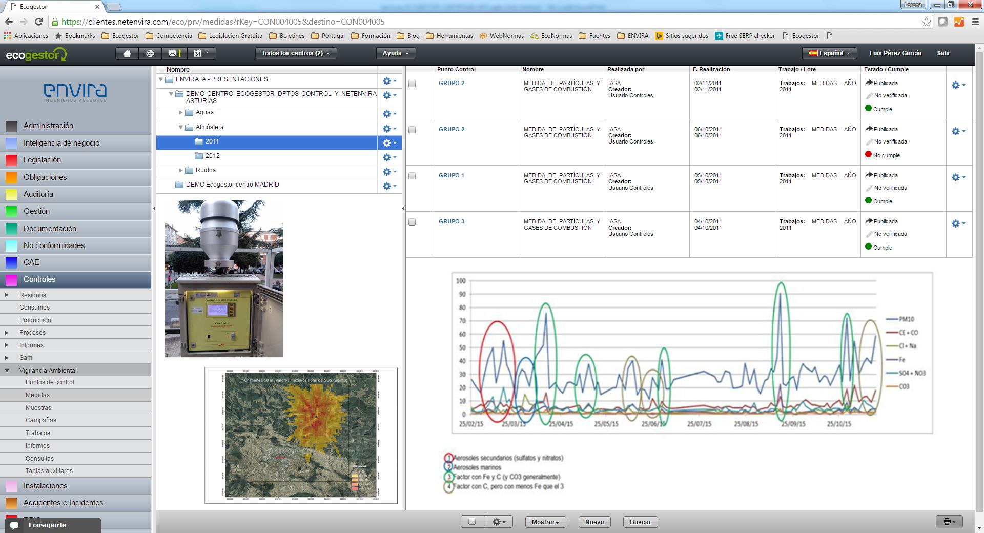 ENVIRA Ingenieros Asesores amplia sus habilitaciones para trabajar en materia de control ambiental