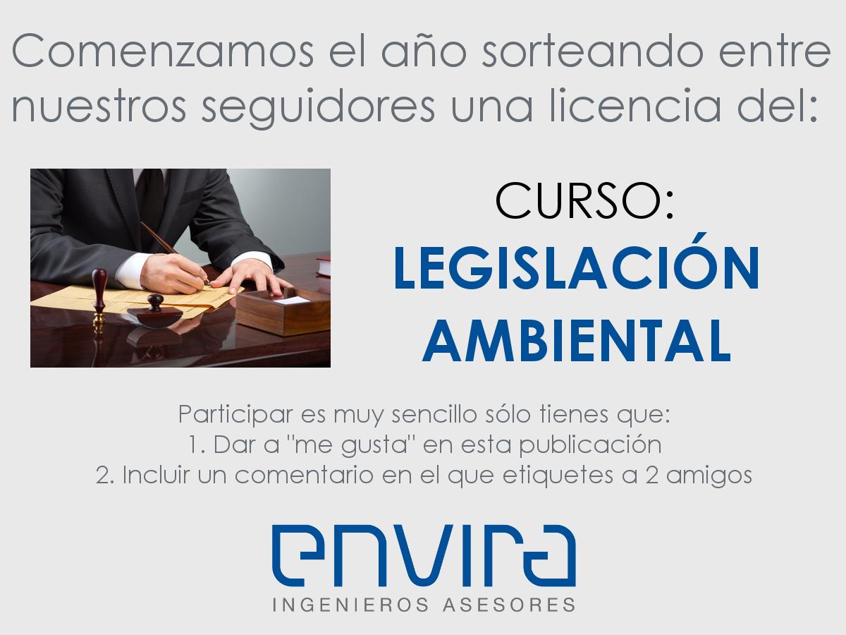 Sorteo licencia curso legislacion ambiental general