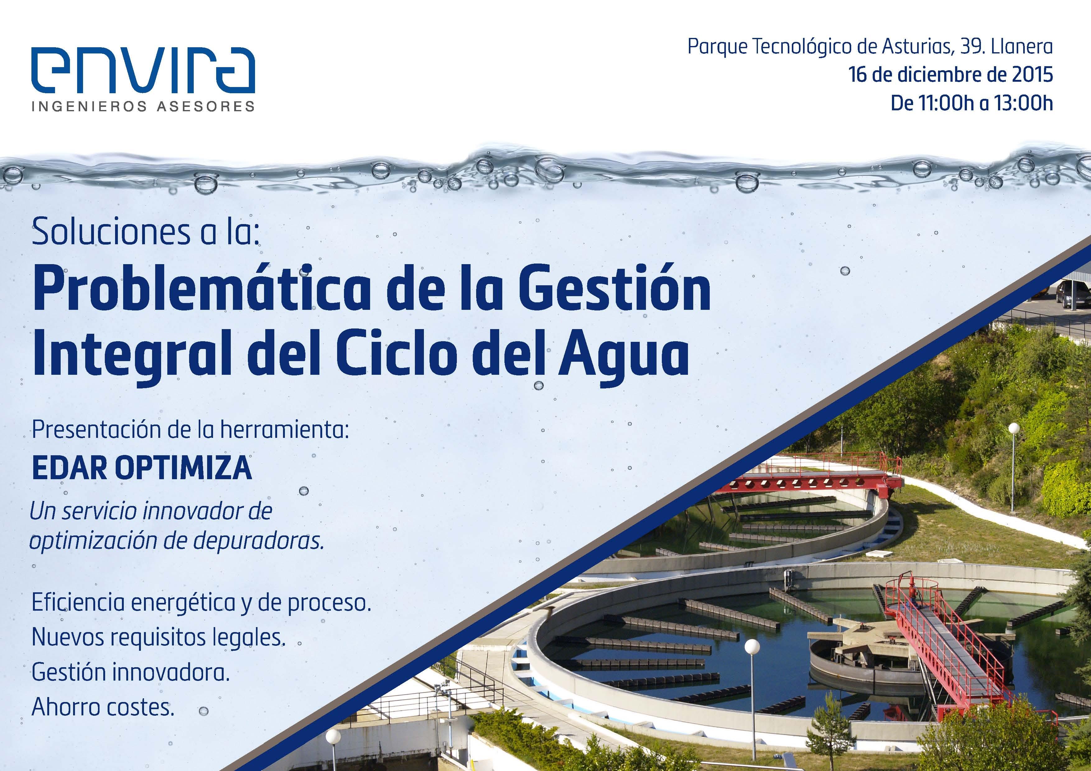Problemática de la gestión integral del Ciclo del Agua