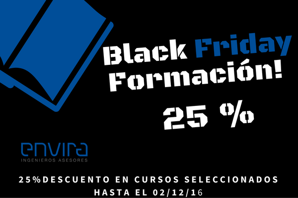 Black Friday Formación y Cursos Medio Ambiente