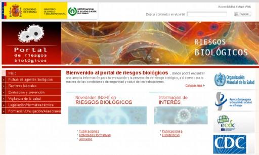 portal riesgos biológicos INSHT