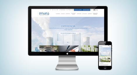 ENVIRA Ingenieros Asesores renueva su página web