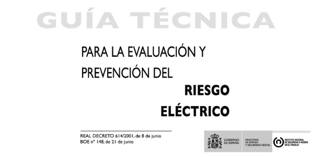 guía-técnica-prevención-riesgo-eléctrico