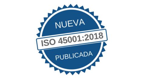Nueva norma ISO 45001:2018