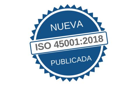 Nova norma ISO 45001:2018